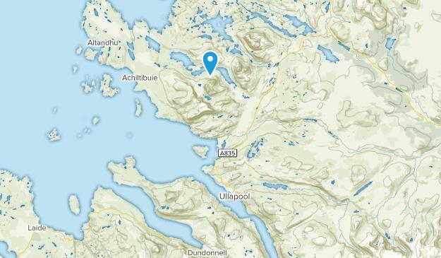 Ullapool, Scotland Map