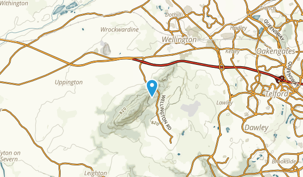 Haygate, Staffordshire Map