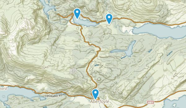 Aberfoyle, Stirling Map