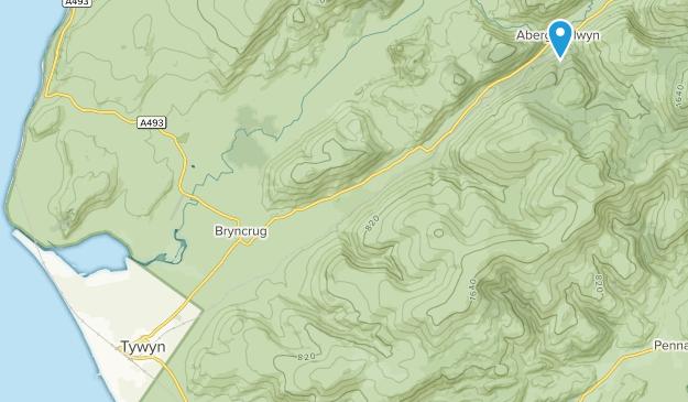 Tywyn, Wales Map