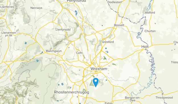 Wrexham, Wales Map