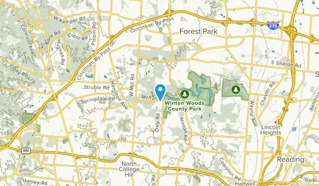 Forest Park, United States Map