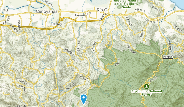 Rio Grande, United States Map