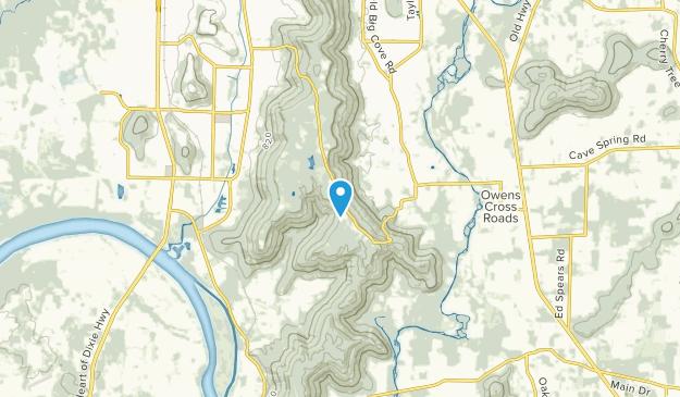 Burrows, Alabama Map