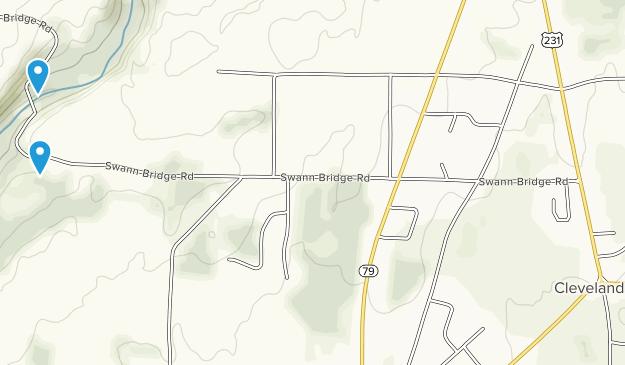 Cleveland, Alabama Map