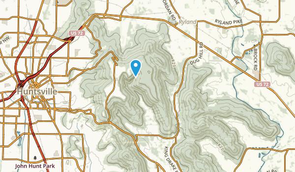 Dug Hill, Alabama Map