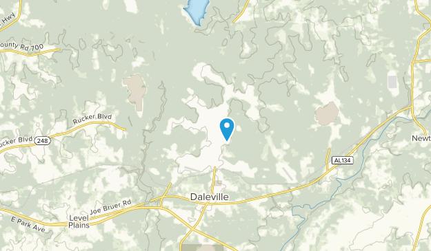 Fort Rucker, Alabama Map