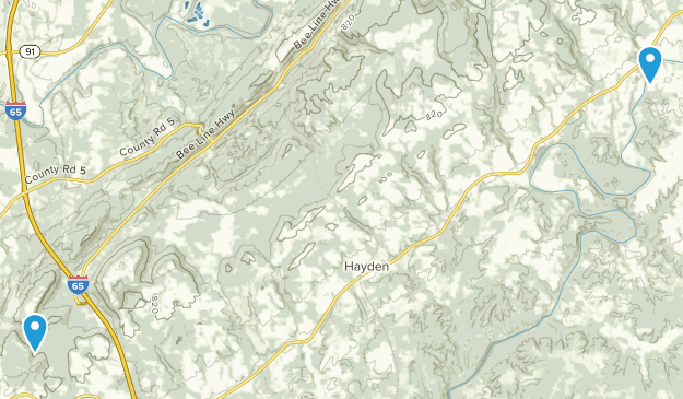 Hayden, Alabama Map