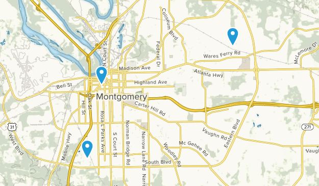 Best Trails near Montgomery, Alabama   AllTrails