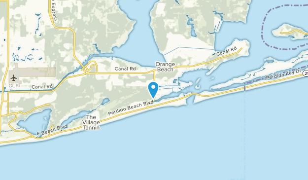 Orange Beach, Alabama Map