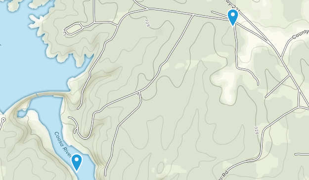 Wetumpka, Alabama Map