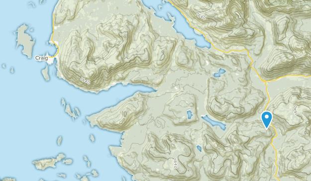 Craig, Alaska Map