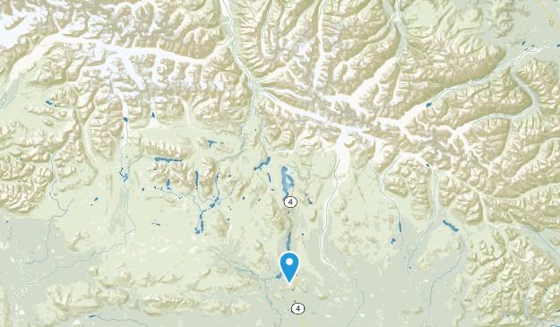 Dot Lake, Alaska Map
