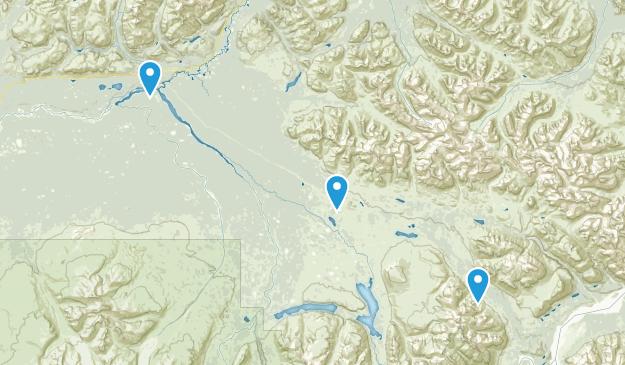 Gakona, Alaska Map
