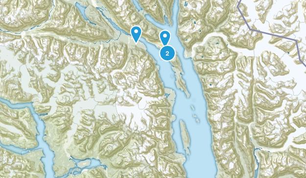 Haines, Alaska Map