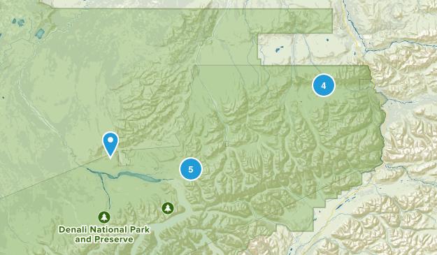 Healy, Alaska Map