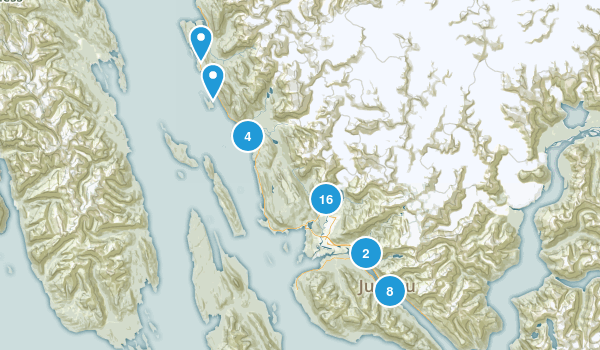 Best Trails Near Juneau Alaska Photos Reviews - Us alaska map