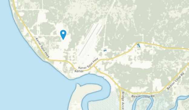 Kenai, Alaska Map