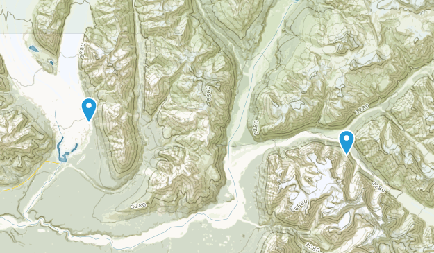 Kennicott, Alaska Map