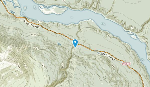 Kenny Lake, Alaska Map