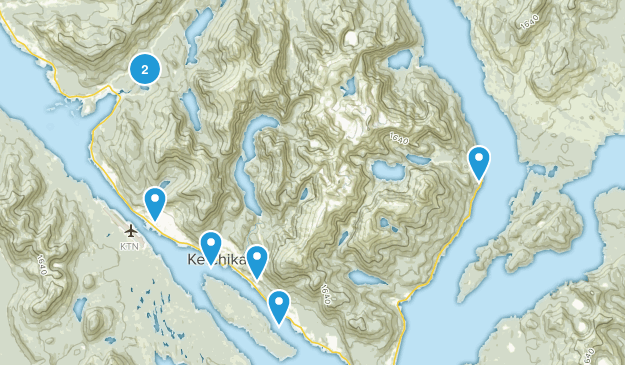 Ketchikan, Alaska Map
