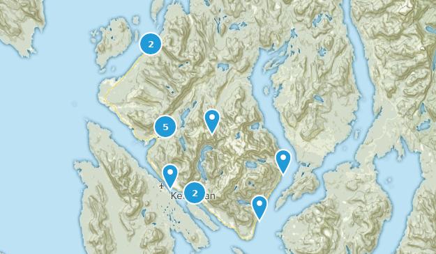 Best Trails near Ketchikan, Alaska | AllTrails on sitka alaska, outline map of alaska, juneau alaska, map of homer alaska, large print map of alaska, map of wasilla alaska, map of southeast alaska, map of naknek alaska, juno alaska, ketchican alaska, skagway alaska, map of seward alaska, map of alaska inside passage, map of kotzebue alaska, map of craig alaska, map of alaska and canada, map of vancouver bc, road map of alaska, map of denali alaska, map of hoonah alaska,