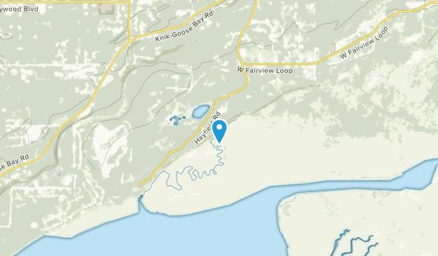 Knik-Fairview, Alaska Map