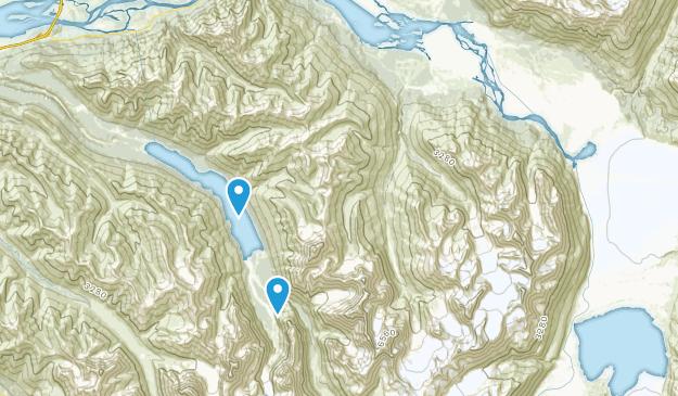 Knik River, Alaska Map