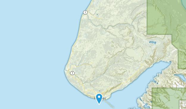 Ninilchik, Alaska Map