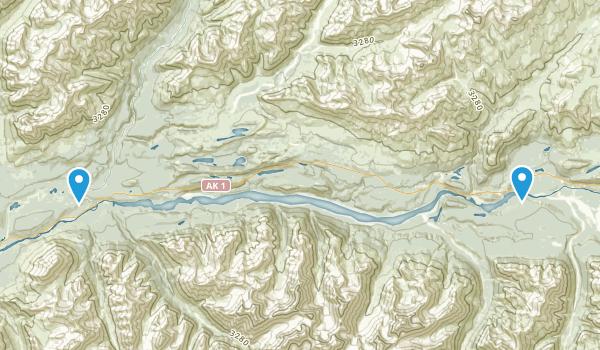 Sutton, Alaska Map