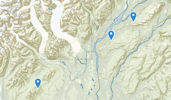 Trapper Creek, Alaska Map