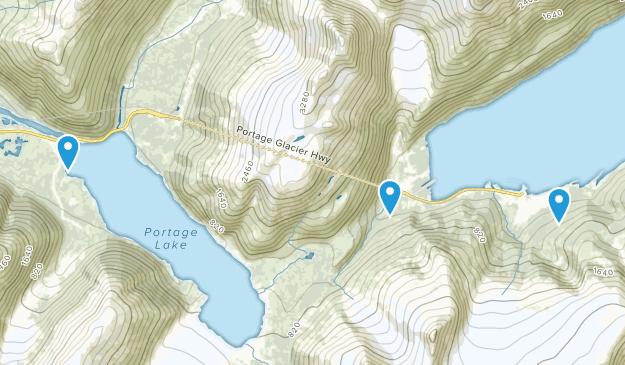 Whittier, Alaska Map