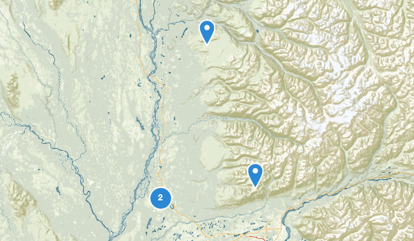 Willow, Alaska Map