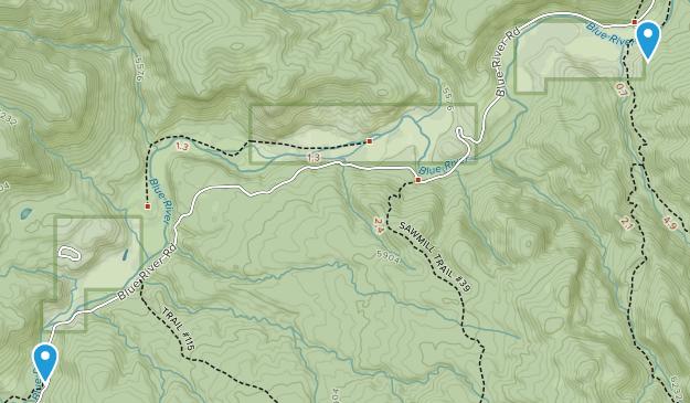 Alpine, Arizona Map