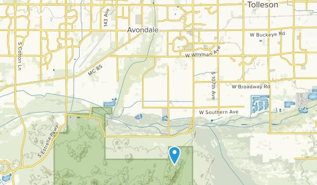 Avondale, Arizona Map