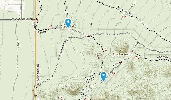 Avra, Arizona Map