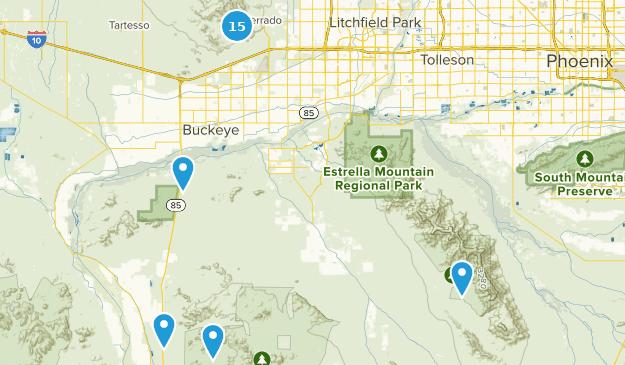 Buckeye, Arizona Map