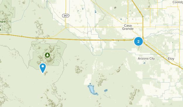 Casa Grande, Arizona Map