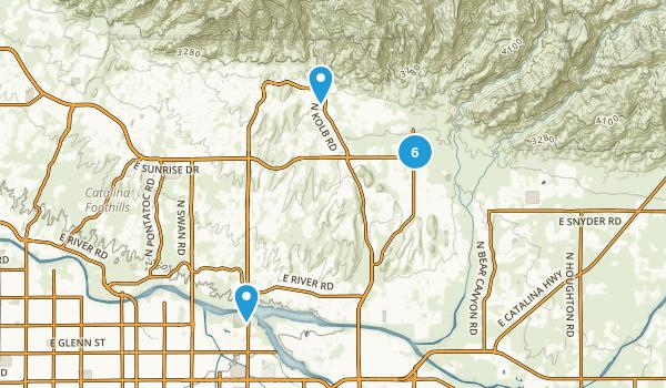 Best Trails near Catalina Foothills Arizona AllTrails