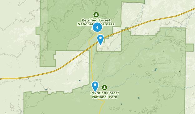 Chambers, Arizona Map