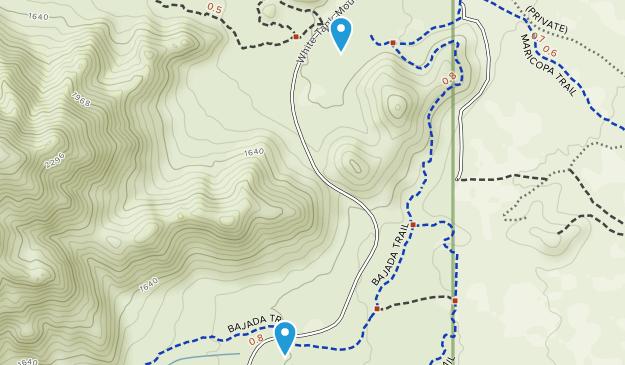 Citrus Park, Arizona Map