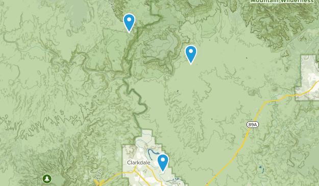 Clarkdale, Arizona Map