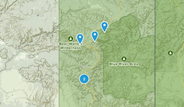 Clifton, Arizona Map