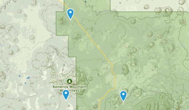 Coconino, Arizona Map