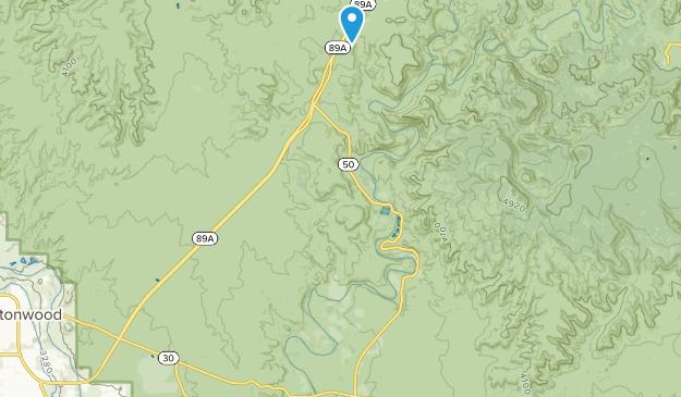 Cornville, Arizona Map
