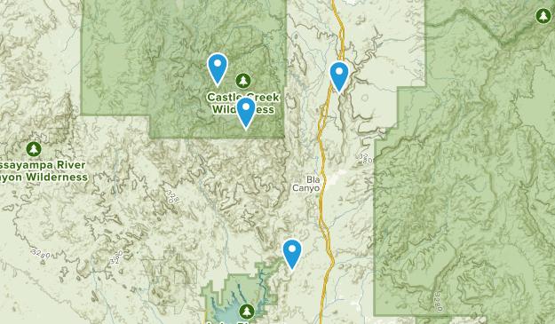 Crown King, Arizona Map
