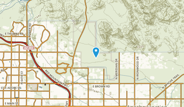 Desert Vista Estates III, Arizona Map