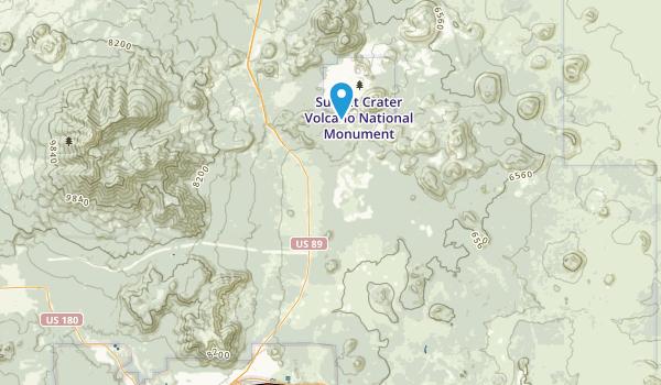 Doney Park, Arizona Map