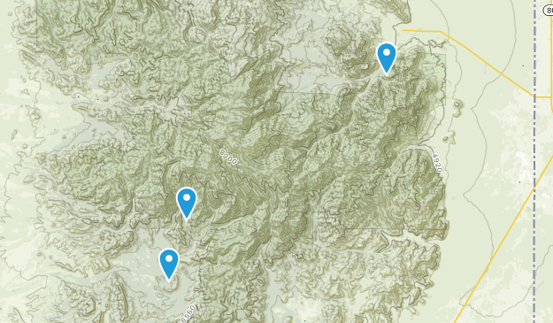 Douglas, Arizona Map