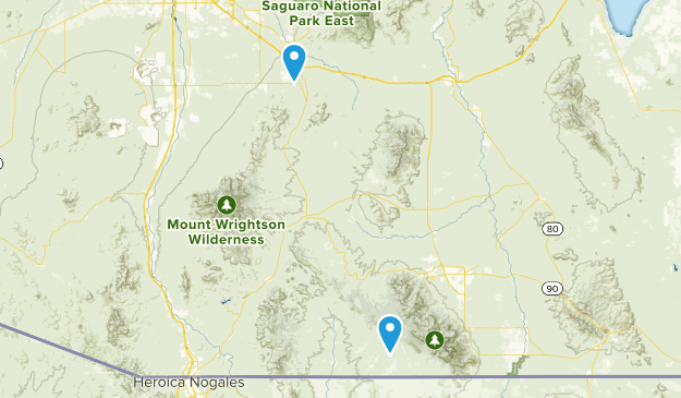 Elgin, Arizona Map